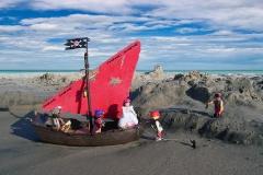 Prinzessin Dea von Piraten entführt